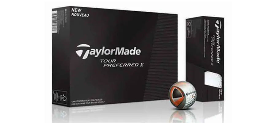 Bola de golf TaylorMade Tour Preferred X → MundoGolf.golf