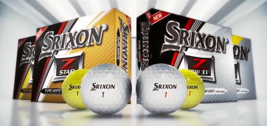 Srixon Z STAR - bola de 3 piezas y compresión 90 - MundoGolf.golf