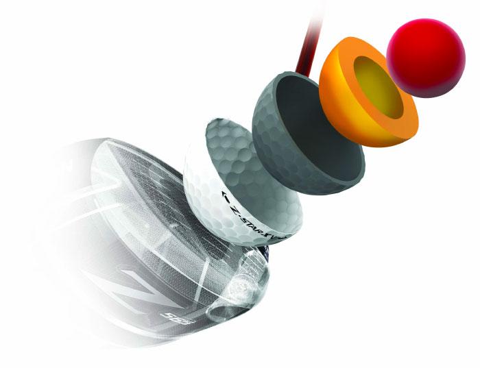 Srixon Z STAR con tecnología Spin Skin con SeRM - MundoGolf.golf