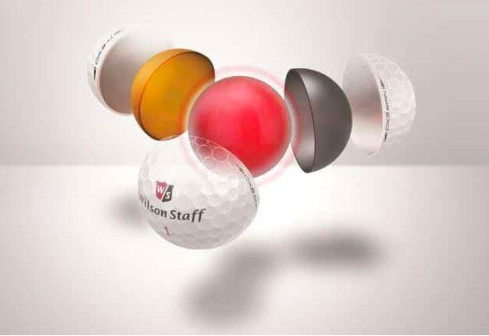 Núcleo de caucho Wilson Staff DX2 → MundoGolf.golf