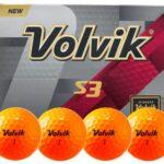 Bolas de golf Volvik S3 → MundoGolf.golf