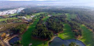 Montealegre Club de Golf a vista de pájaro - Ourense