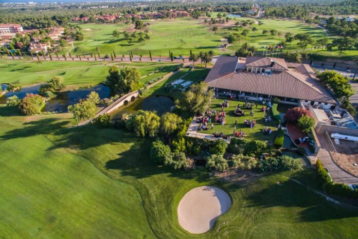 Club de golf Bonmont - vista aerea → Tarragona