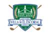 Escudo isologotipo Asociación de Golf Villa de El Escorial