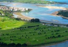 Golf Abra del Pas vista aerea - Mogro - Cantabria